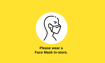 Store Update re. Face Masks