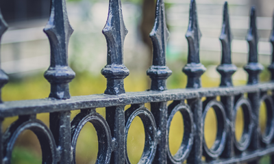 How to Save Rusting Exterior Railings & Gates